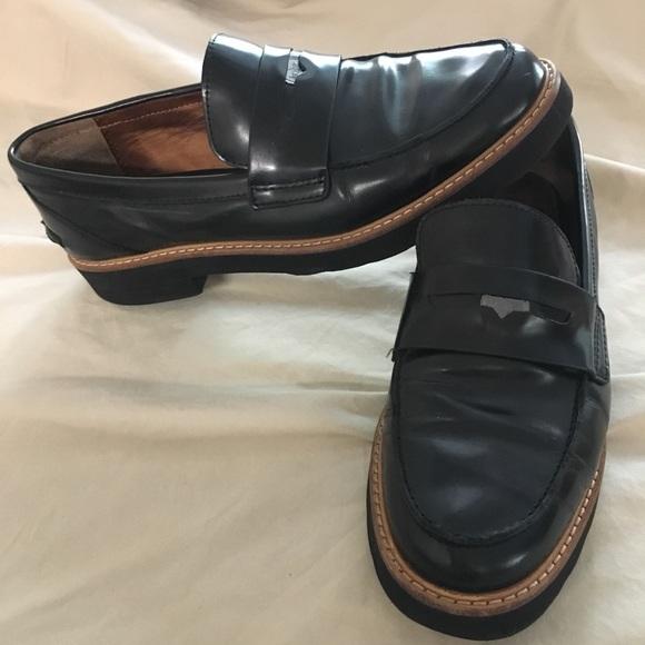 5033e6fcb55 Coach Shoes - Coach women s platform patent leather loafer